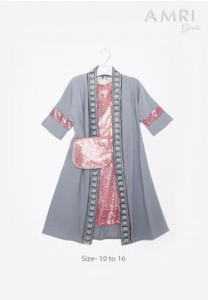 Sequence Dress With Jacket