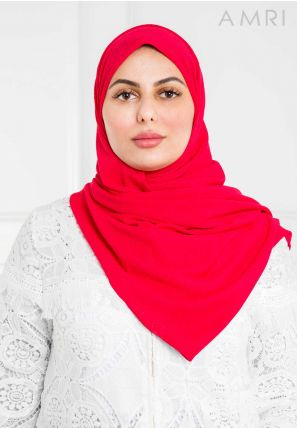 Soft Textured Plain Hijab