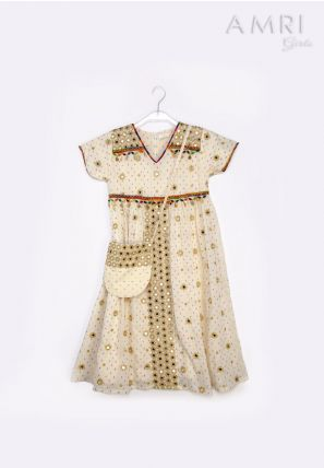 Embellished Accessorized Frock