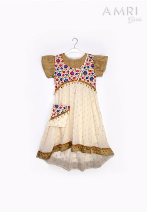 Embellished High-Low Frock