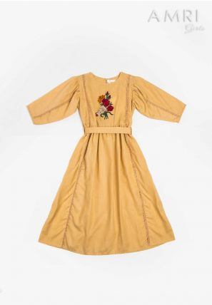 Flower Patched Frock
