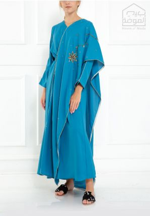 Embroidered Draped Jalabiya