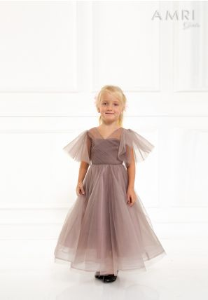 Flared Tulle Dress