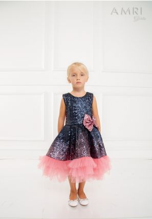 Frilled Glitter Frock