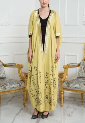 Embroidered Bisht