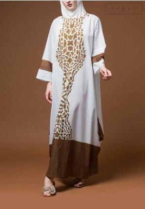 Animal Printed Jalabiya